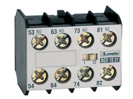 11BGX1004 - CONTACTO AUXILIAR FRONTAL 4NC 10 AMP