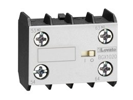 11BGX1011 - CONTACTO AUXILIAR FRONTAL 1NA 1NC 10 AMP