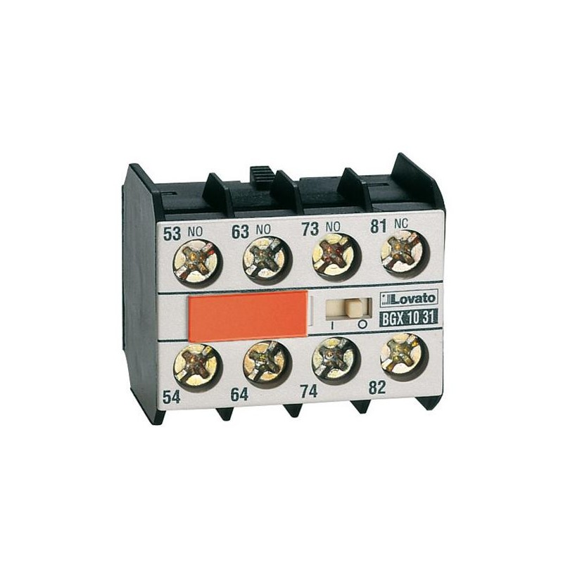 11BGX1040 - CONTACTO AUXILIAR FRONTAL 4NA 10 AMP