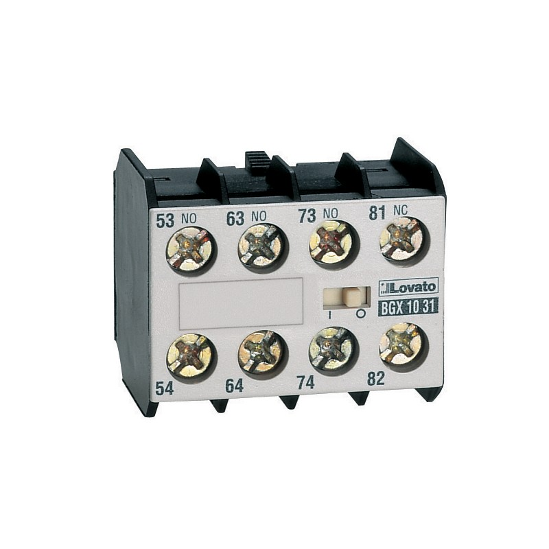 11BGX1031 - CONTACTO AUXILIAR FRONTAL 3NA 1NC 10 AMP