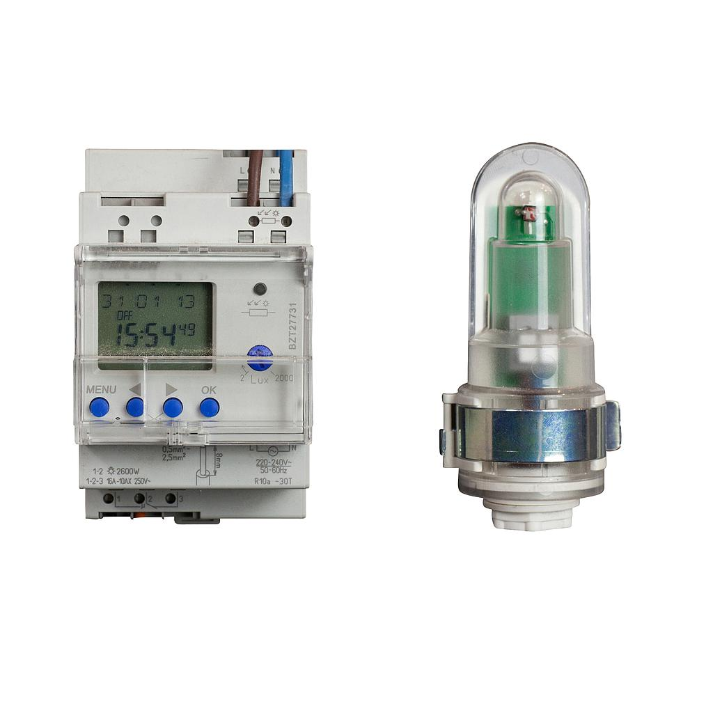 BZT27731-CONTROL DIGITAL LUMS 1 CAN 230V  16AMP CON